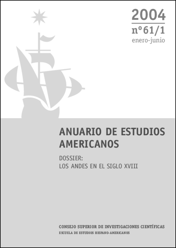 Ver Vol. 61 Núm. 1 (2004)