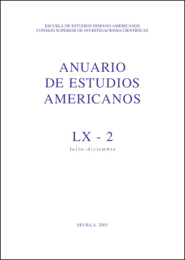 Ver Vol. 60 Núm. 2 (2003)