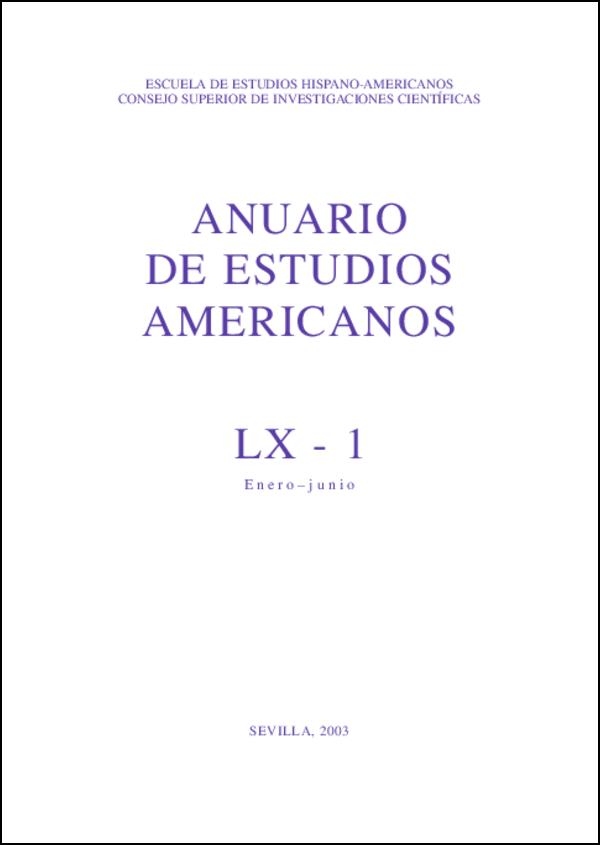 Ver Vol. 60 Núm. 1 (2003)