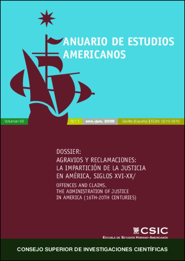 Ver Vol. 66 Núm. 1 (2009)