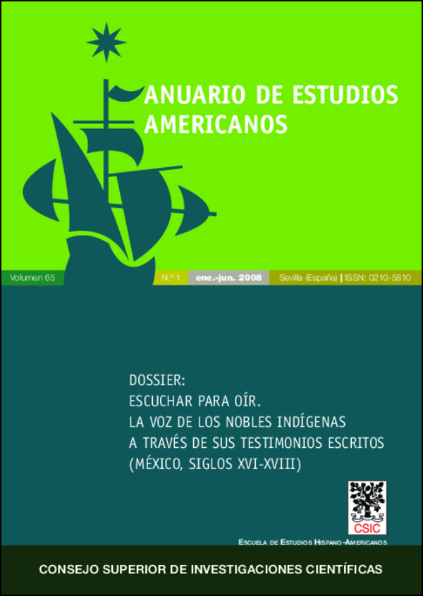 Ver Vol. 65 Núm. 1 (2008)