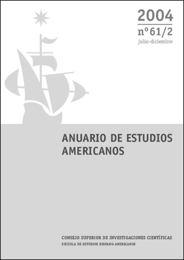 Ver Vol. 61 Núm. 2 (2004)